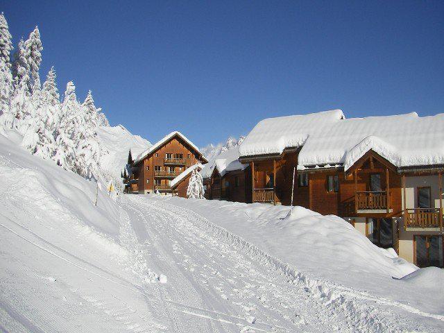 Location au ski Appartement 3 pièces 6 personnes (C103) - Résidence Parc aux Etoiles - Puy-Saint-Vincent - Extérieur hiver