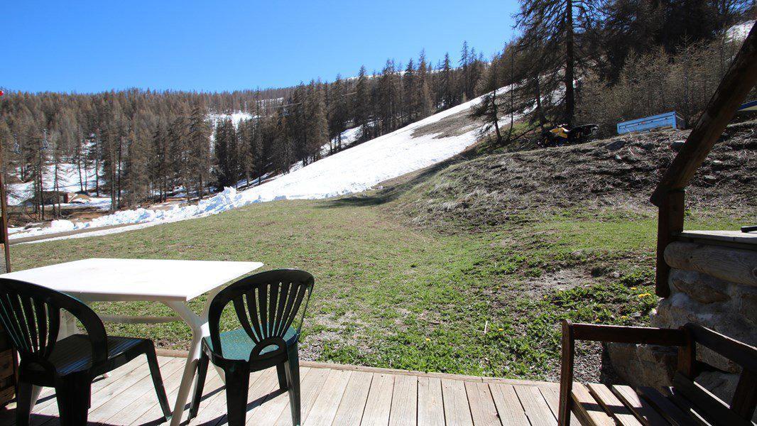Location au ski Appartement triplex 5 pièces 8 personnes (CH25) - Résidence Parc aux Etoiles - Puy-Saint-Vincent - Extérieur hiver