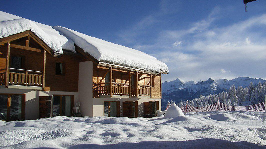 Location au ski Appartement duplex 3 pièces 7 personnes (CH13) - Résidence Parc aux Etoiles - Puy-Saint-Vincent - Extérieur hiver