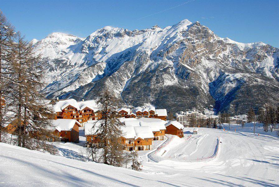 Location au ski Appartement 3 pièces 6 personnes (A108) - Résidence Parc aux Etoiles - Puy-Saint-Vincent - Extérieur hiver