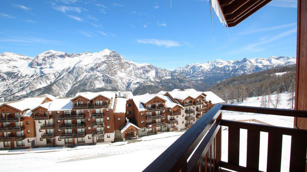 Location au ski Appartement 3 pièces 4 personnes (C311) - Résidence Parc aux Etoiles - Puy-Saint-Vincent - Extérieur hiver