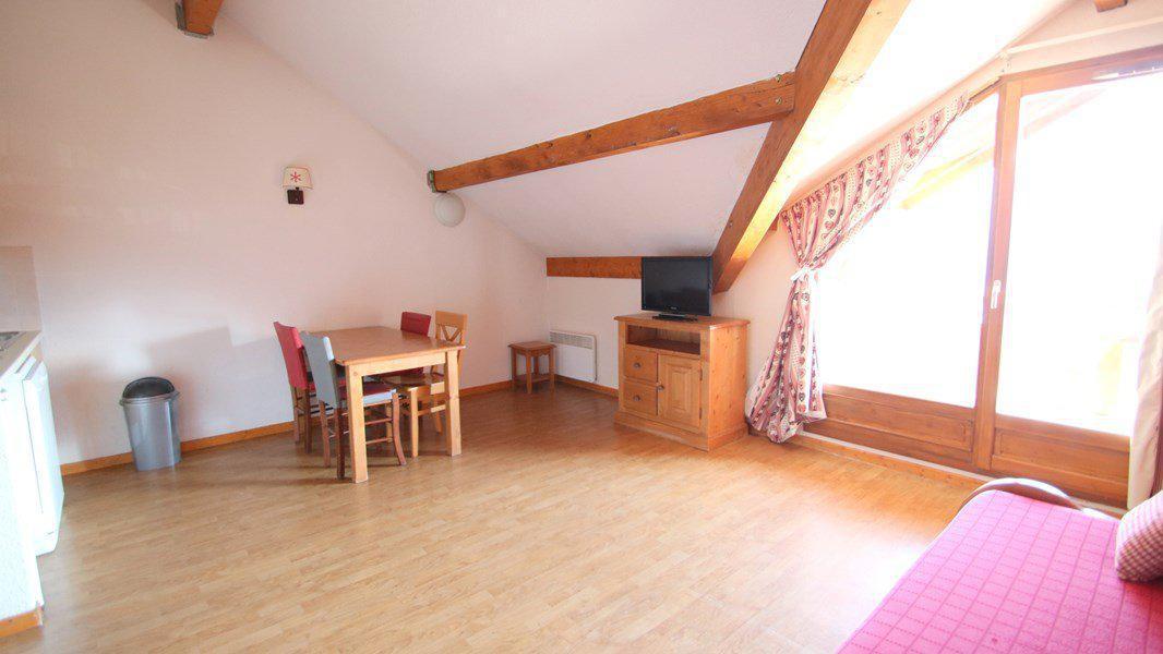 Location au ski Appartement 2 pièces 4 personnes (A203) - Résidence Parc aux Etoiles - Puy-Saint-Vincent - Banquette-lit
