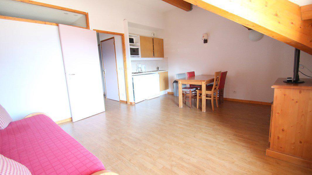 Location au ski Appartement 2 pièces 4 personnes (A203) - Résidence Parc aux Etoiles - Puy-Saint-Vincent - Séjour