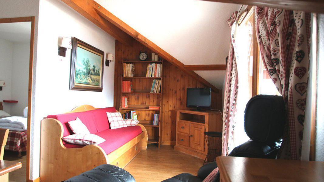 Location au ski Appartement 2 pièces 4 personnes (A204) - Résidence Parc aux Etoiles - Puy-Saint-Vincent - Banquette-lit