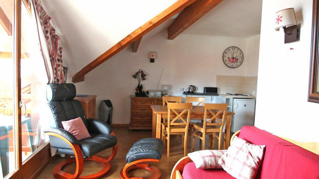 Location au ski Appartement 2 pièces 4 personnes (A204) - Résidence Parc aux Etoiles - Puy-Saint-Vincent - Séjour