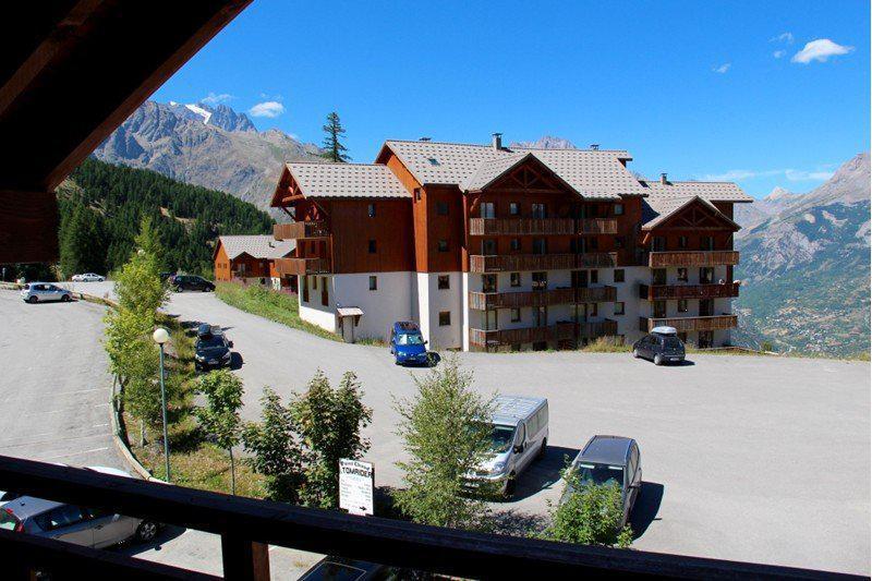 Location au ski Appartement 2 pièces 4 personnes (B202) - Résidence Parc aux Etoiles - Puy-Saint-Vincent - Balcon