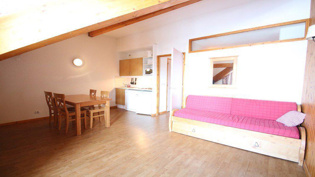 Location au ski Appartement 2 pièces 4 personnes (B202) - Résidence Parc aux Etoiles - Puy-Saint-Vincent - Séjour