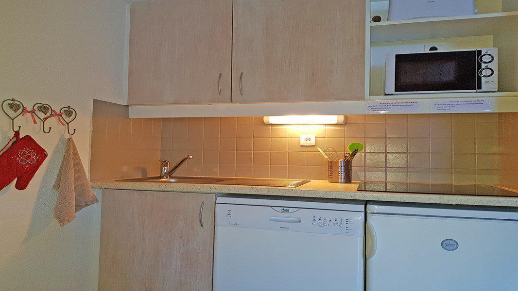 Location au ski Appartement 2 pièces 4 personnes (C408) - Résidence Parc aux Etoiles - Puy-Saint-Vincent - Kitchenette