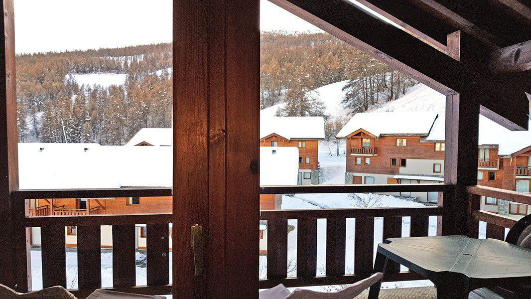 Location au ski Appartement 2 pièces 4 personnes (C408) - Résidence Parc aux Etoiles - Puy-Saint-Vincent - Séjour