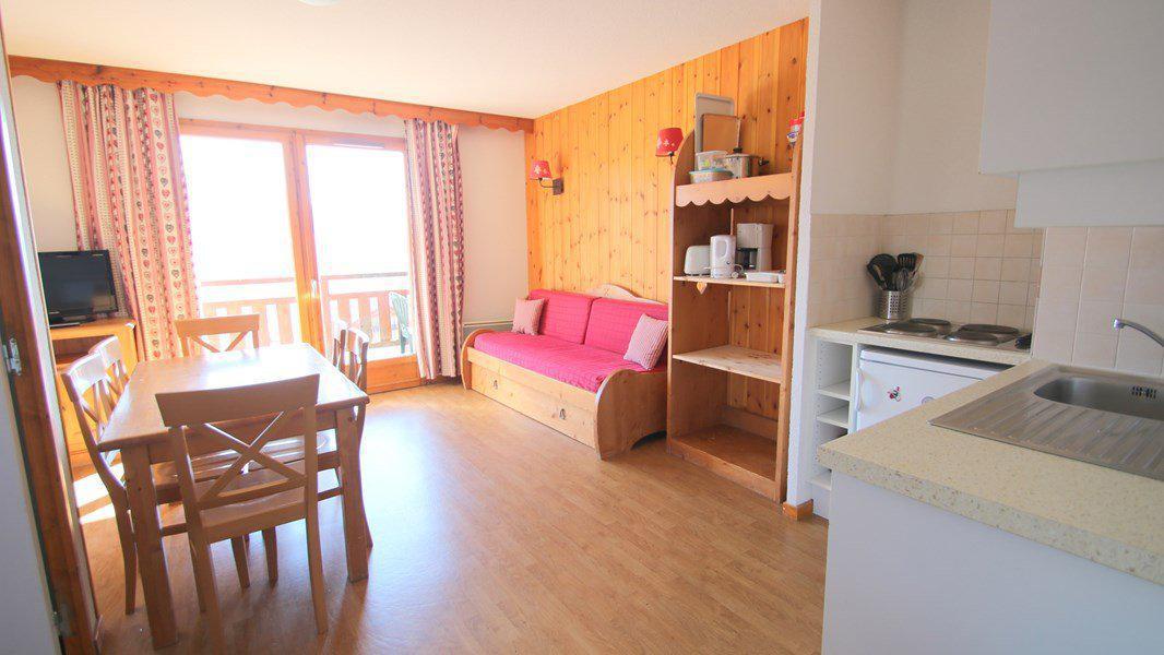 Location au ski Appartement 3 pièces 4 personnes (A104) - Résidence Parc aux Etoiles - Puy-Saint-Vincent - Séjour