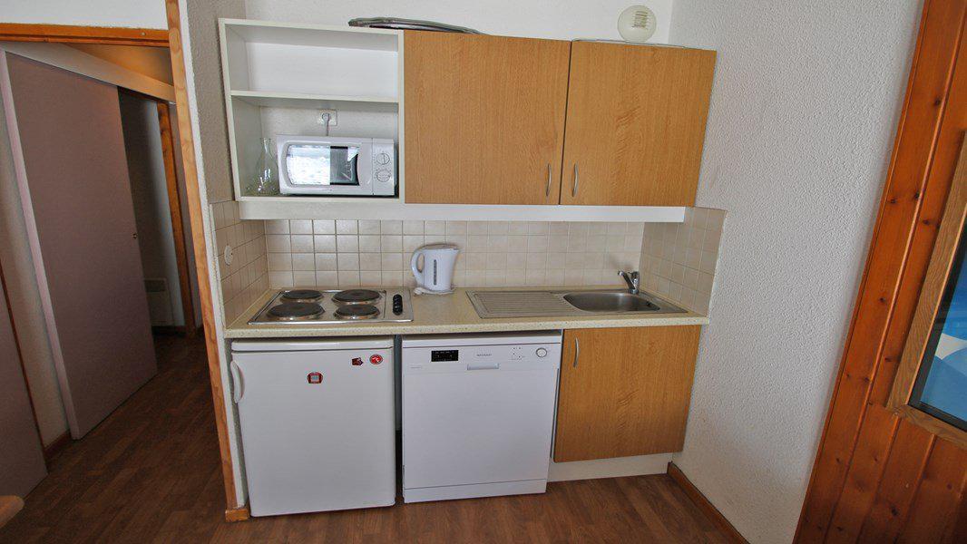 Location au ski Appartement 3 pièces 6 personnes (A008) - Résidence Parc aux Etoiles - Puy-Saint-Vincent - Kitchenette