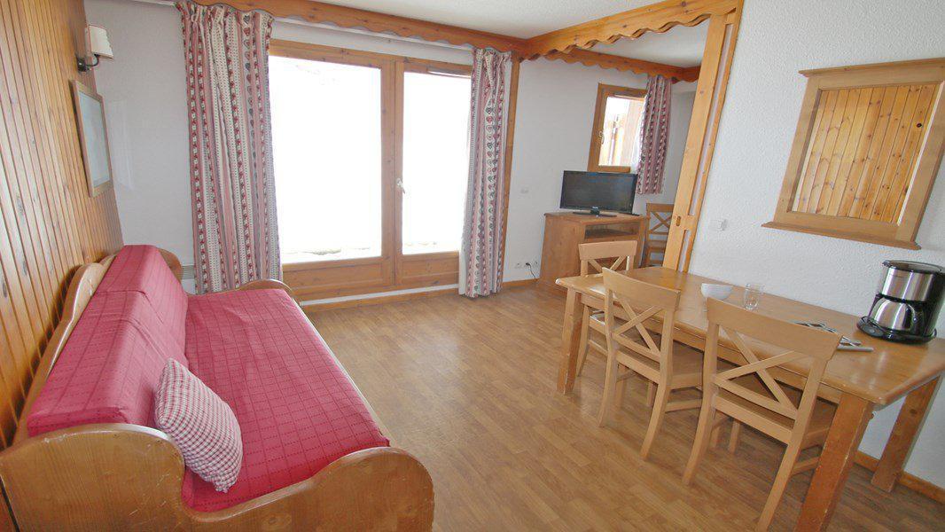 Location au ski Appartement 3 pièces 6 personnes (A008) - Résidence Parc aux Etoiles - Puy-Saint-Vincent - Séjour