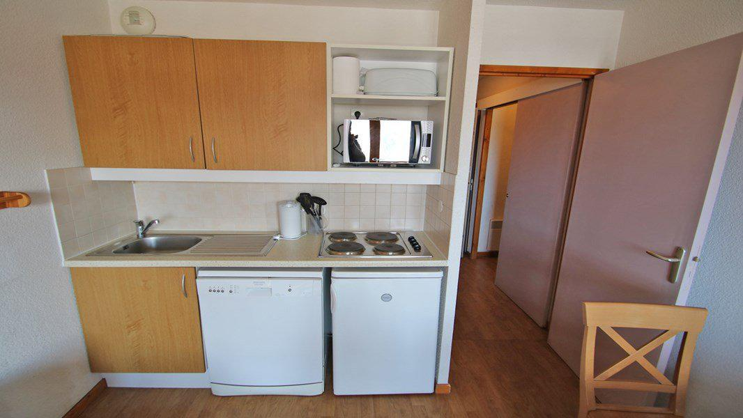 Location au ski Appartement 3 pièces 6 personnes (A102) - Résidence Parc aux Etoiles - Puy-Saint-Vincent - Kitchenette
