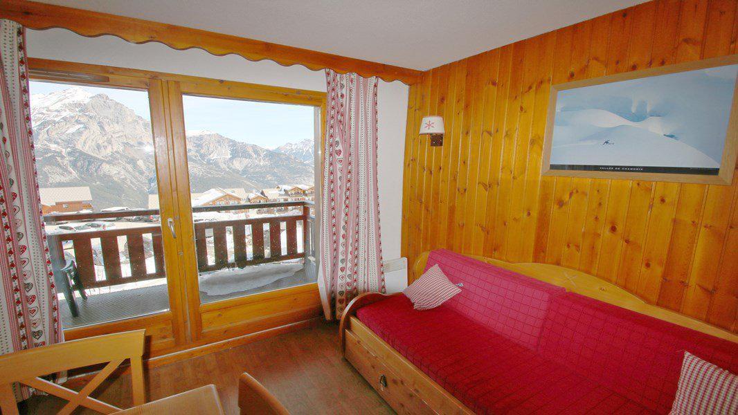 Location au ski Appartement 3 pièces 6 personnes (A102) - Résidence Parc aux Etoiles - Puy-Saint-Vincent - Séjour