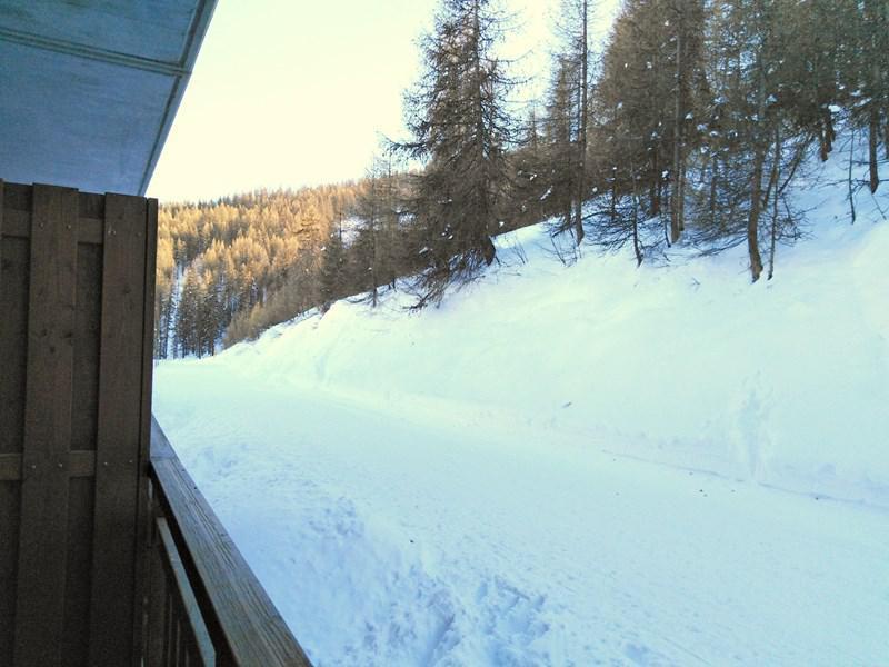 Location au ski Appartement 3 pièces 6 personnes (A108) - Résidence Parc aux Etoiles - Puy-Saint-Vincent - Balcon