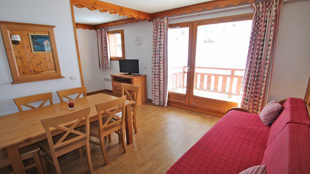 Location au ski Appartement 3 pièces 6 personnes (A109) - Résidence Parc aux Etoiles - Puy-Saint-Vincent - Séjour