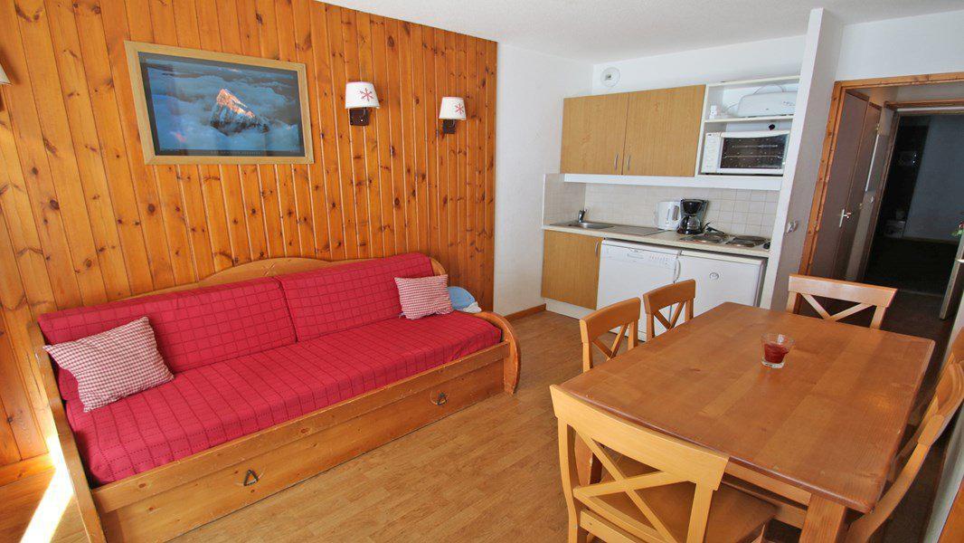 Location au ski Appartement 3 pièces 6 personnes (A109) - Résidence Parc aux Etoiles - Puy-Saint-Vincent - Table