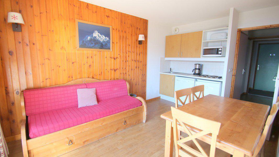 Location au ski Appartement 3 pièces 6 personnes (A201) - Résidence Parc aux Etoiles - Puy-Saint-Vincent - Table