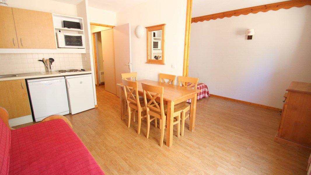 Location au ski Appartement 3 pièces 6 personnes (A209) - Résidence Parc aux Etoiles - Puy-Saint-Vincent - Table