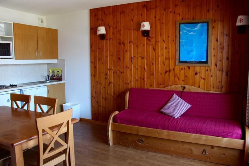 Location au ski Appartement 3 pièces 6 personnes (B101) - Résidence Parc aux Etoiles - Puy-Saint-Vincent - Séjour