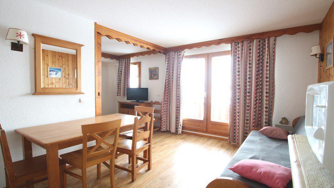 Location au ski Appartement 3 pièces 6 personnes (C004) - Résidence Parc aux Etoiles - Puy-Saint-Vincent - Séjour