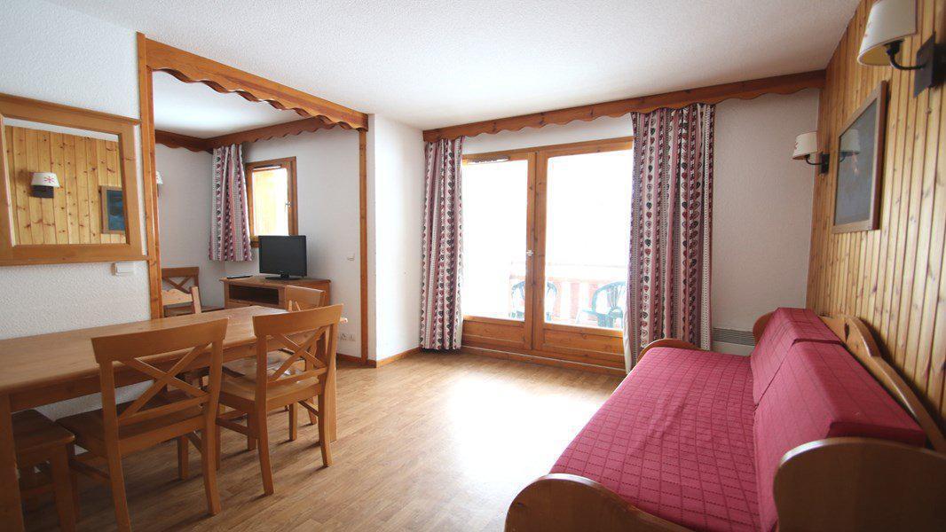 Location au ski Appartement 3 pièces 6 personnes (C104) - Résidence Parc aux Etoiles - Puy-Saint-Vincent - Canapé-gigogne