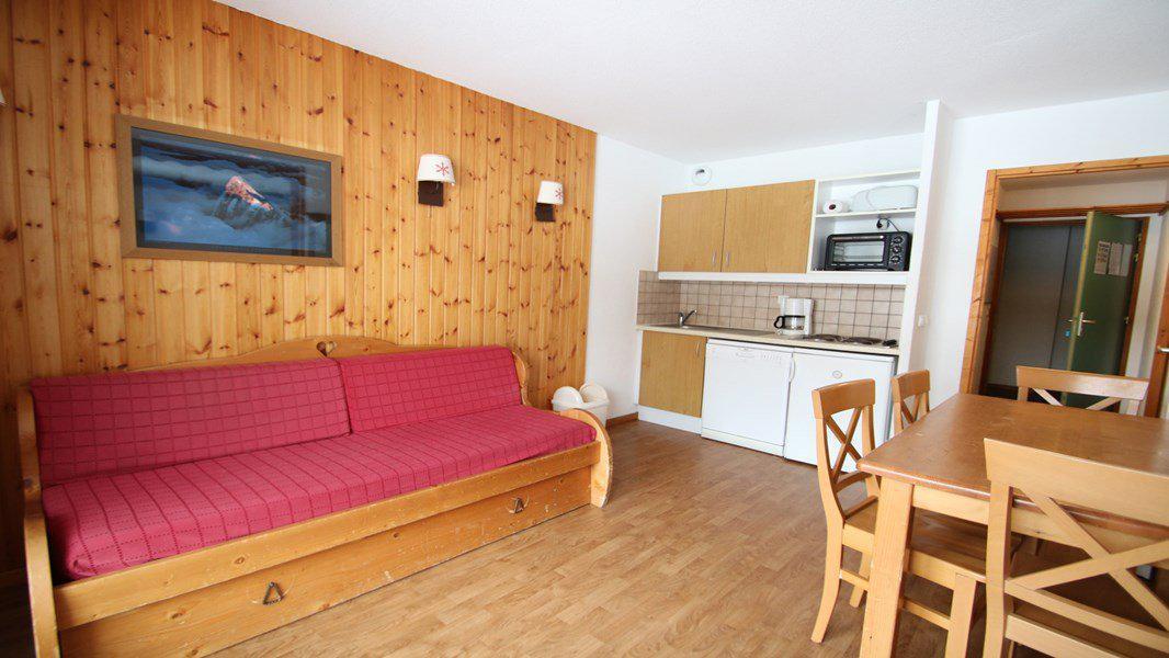 Location au ski Appartement 3 pièces 6 personnes (C104) - Résidence Parc aux Etoiles - Puy-Saint-Vincent - Kitchenette
