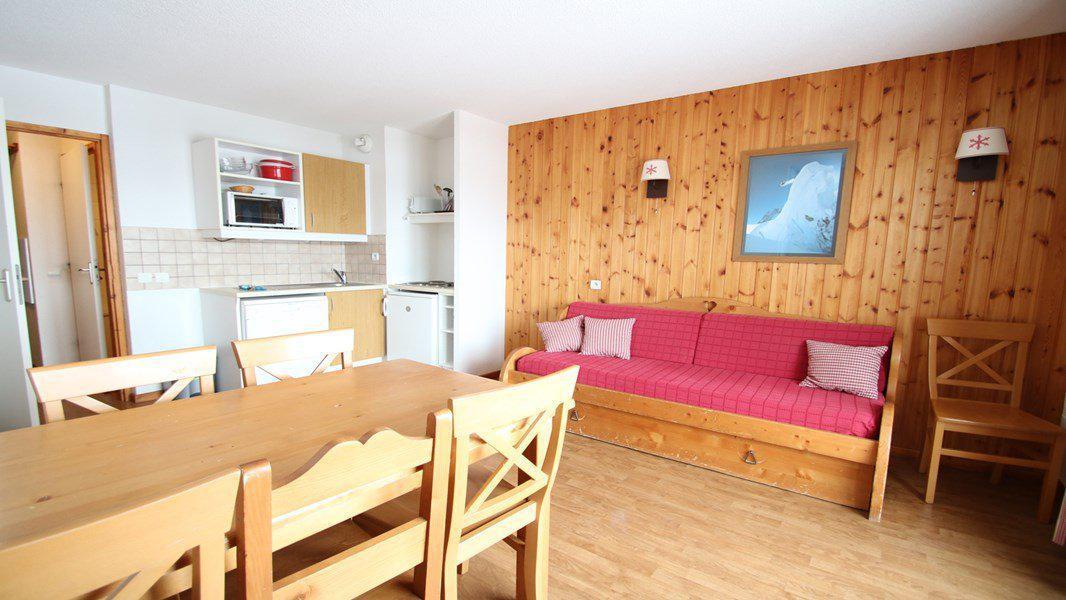 Location au ski Appartement 3 pièces 6 personnes (C105) - Résidence Parc aux Etoiles - Puy-Saint-Vincent - Séjour