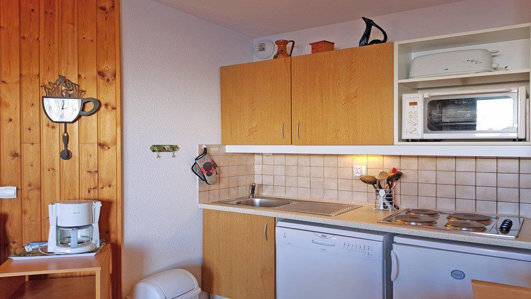 Location au ski Appartement 3 pièces 6 personnes (C201) - Résidence Parc aux Etoiles - Puy-Saint-Vincent - Kitchenette
