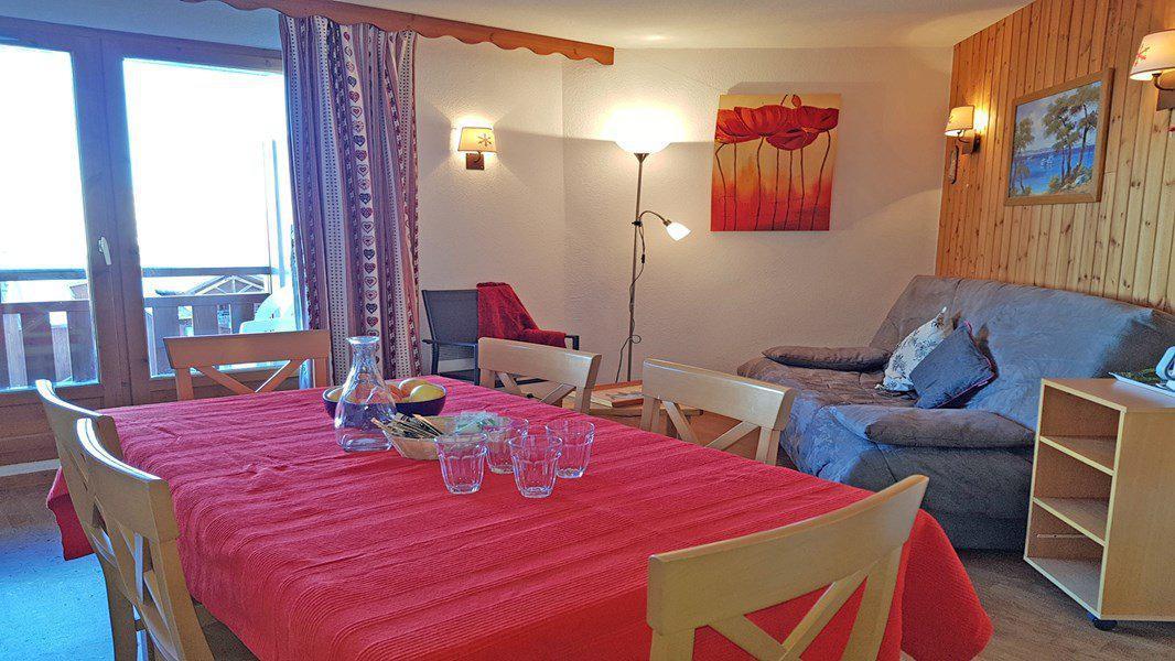 Location au ski Appartement 3 pièces 6 personnes (C201) - Résidence Parc aux Etoiles - Puy-Saint-Vincent - Séjour