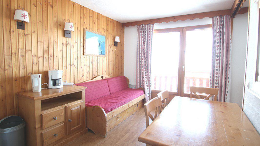 Location au ski Appartement 3 pièces 6 personnes (C213) - Résidence Parc aux Etoiles - Puy-Saint-Vincent - Canapé-gigogne
