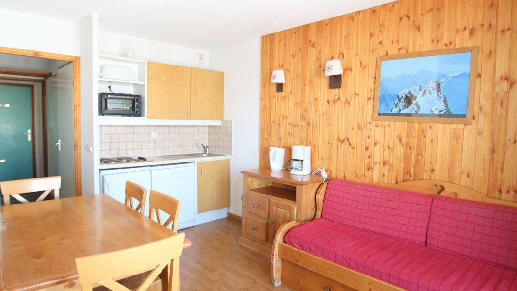Location au ski Appartement 3 pièces 6 personnes (C213) - Résidence Parc aux Etoiles - Puy-Saint-Vincent - Kitchenette