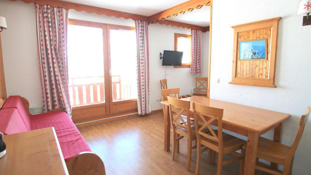 Location au ski Appartement 3 pièces 6 personnes (C213) - Résidence Parc aux Etoiles - Puy-Saint-Vincent - Séjour