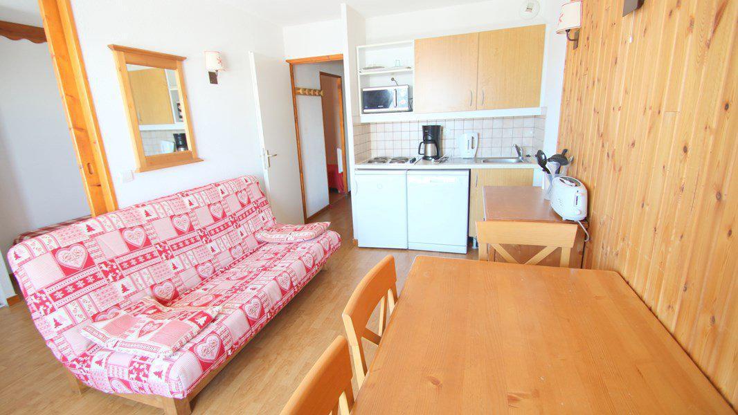 Location au ski Appartement 3 pièces 6 personnes (C302) - Résidence Parc aux Etoiles - Puy-Saint-Vincent - Kitchenette