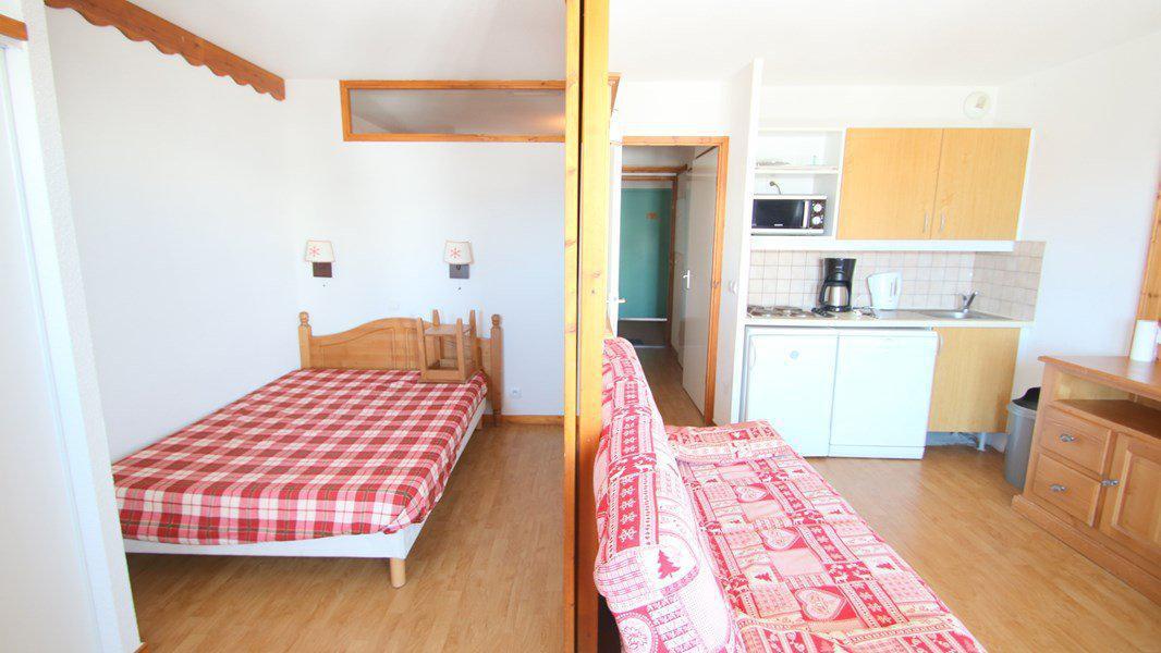 Location au ski Appartement 3 pièces 6 personnes (C302) - Résidence Parc aux Etoiles - Puy-Saint-Vincent - Lit double