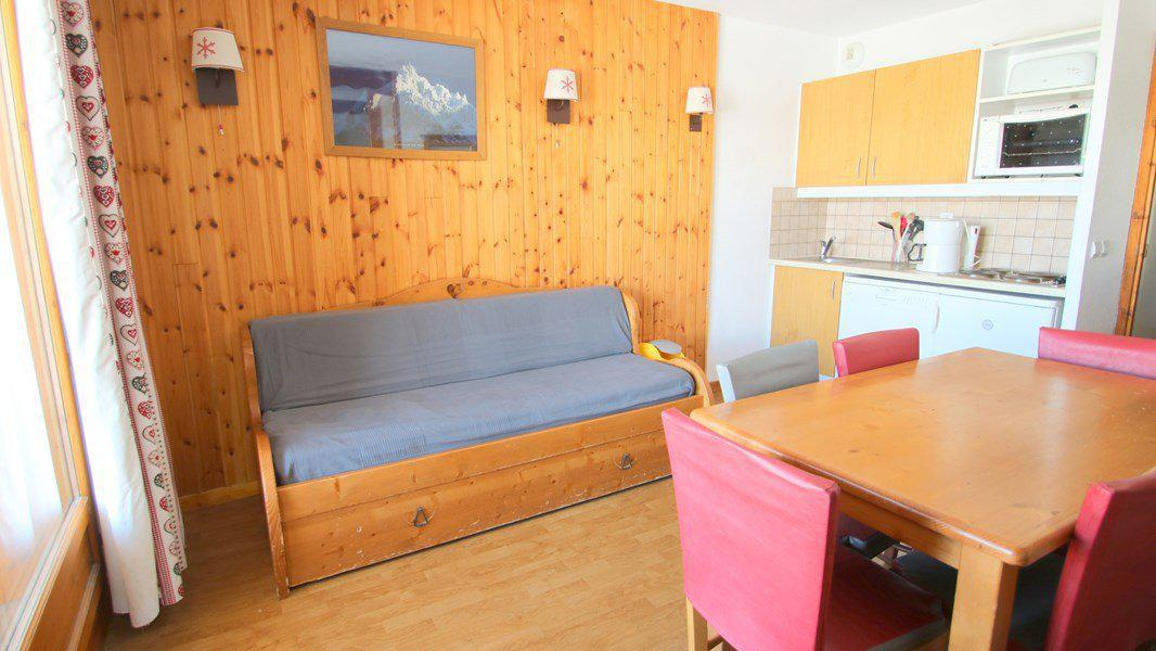 Location au ski Appartement 3 pièces 6 personnes (C314) - Résidence Parc aux Etoiles - Puy-Saint-Vincent - Canapé-gigogne