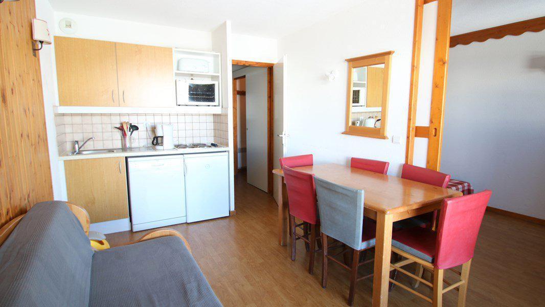 Location au ski Appartement 3 pièces 6 personnes (C314) - Résidence Parc aux Etoiles - Puy-Saint-Vincent - Kitchenette