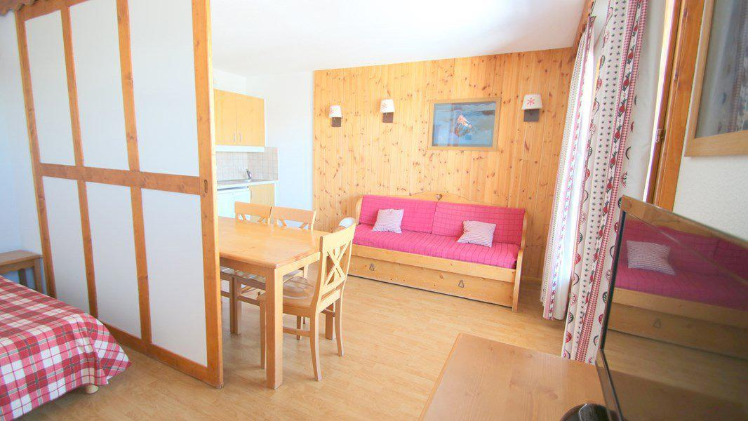 Location au ski Appartement 3 pièces 6 personnes (C402) - Résidence Parc aux Etoiles - Puy-Saint-Vincent - Séjour