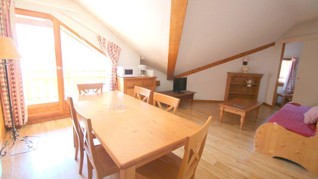 Location au ski Appartement 3 pièces 6 personnes (C503) - Résidence Parc aux Etoiles - Puy-Saint-Vincent - Séjour