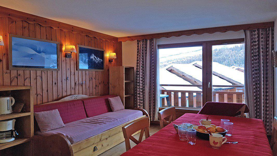 Location au ski Appartement 4 pièces 7 personnes (A110) - Résidence Parc aux Etoiles - Puy-Saint-Vincent - Table
