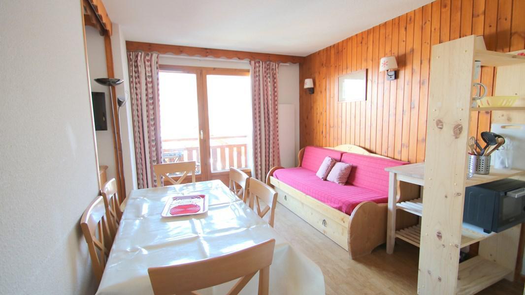 Location au ski Appartement 4 pièces 7 personnes (A212) - Résidence Parc aux Etoiles - Puy-Saint-Vincent - Canapé-gigogne