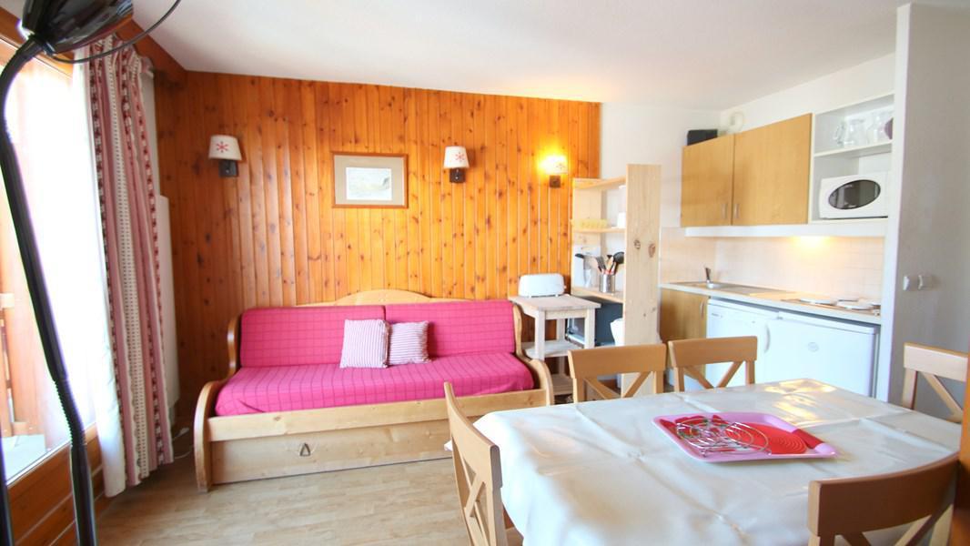 Location au ski Appartement 4 pièces 7 personnes (A212) - Résidence Parc aux Etoiles - Puy-Saint-Vincent - Kitchenette