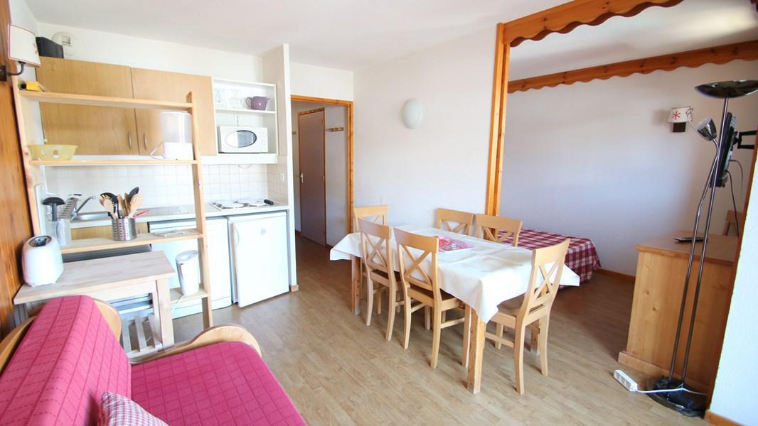 Location au ski Appartement 4 pièces 7 personnes (A212) - Résidence Parc aux Etoiles - Puy-Saint-Vincent - Séjour