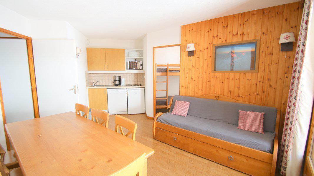 Location au ski Appartement 4 pièces 7 personnes (C306) - Résidence Parc aux Etoiles - Puy-Saint-Vincent - Canapé-gigogne