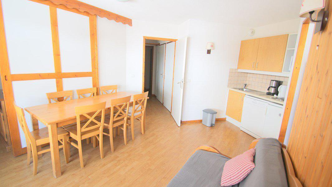 Location au ski Appartement 4 pièces 7 personnes (C306) - Résidence Parc aux Etoiles - Puy-Saint-Vincent - Table