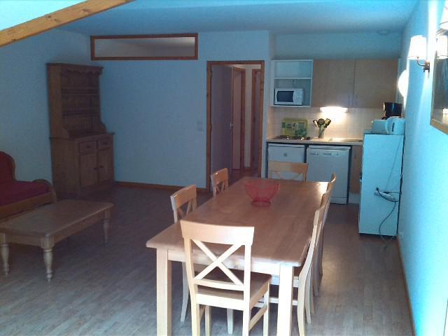 Location au ski Appartement 4 pièces 8 personnes (A301) - Résidence Parc aux Etoiles - Puy-Saint-Vincent - Table
