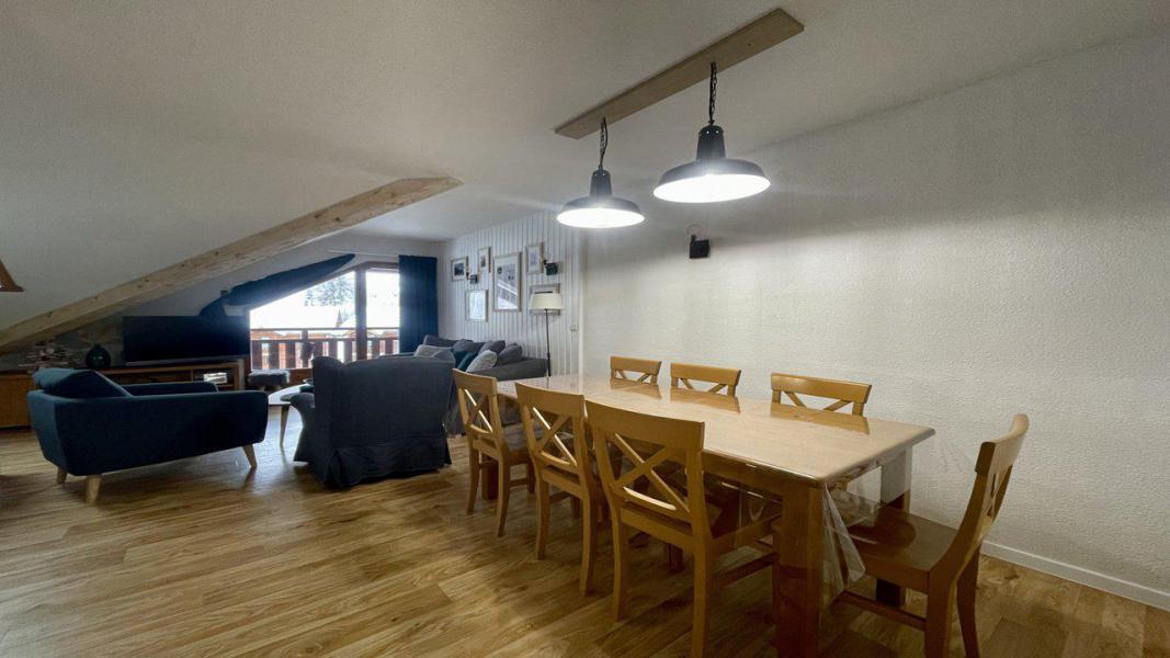 Location au ski Appartement 4 pièces 8 personnes (C505) - Résidence Parc aux Etoiles - Puy-Saint-Vincent - Séjour