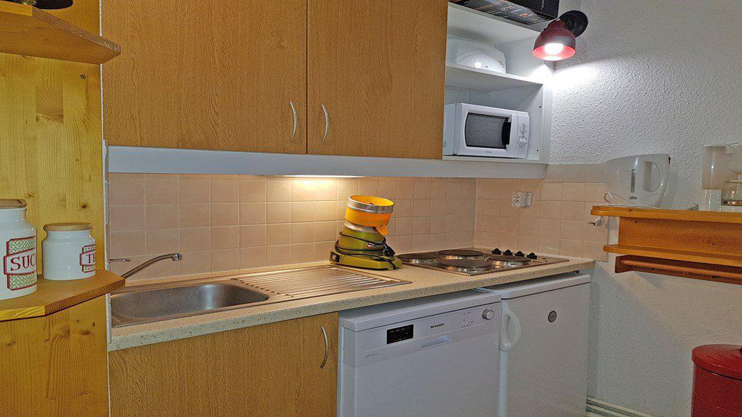 Location au ski Appartement duplex 3 pièces 6 personnes (B204) - Résidence Parc aux Etoiles - Puy-Saint-Vincent - Kitchenette