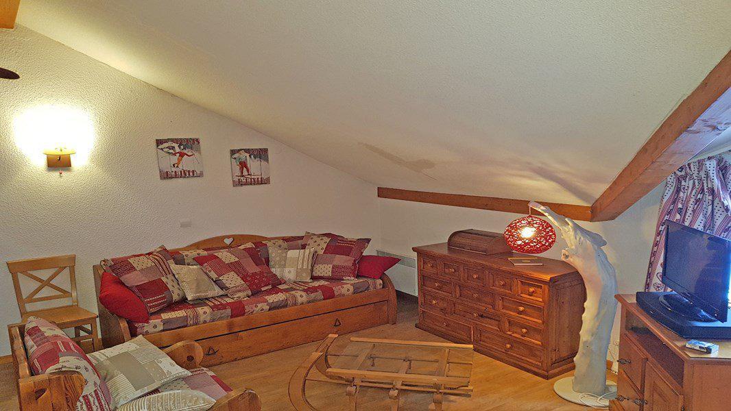 Location au ski Appartement duplex 3 pièces 6 personnes (B204) - Résidence Parc aux Etoiles - Puy-Saint-Vincent - Séjour