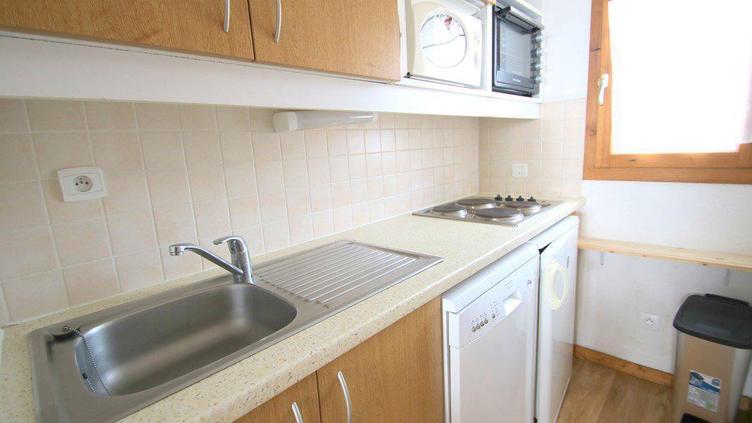 Location au ski Appartement duplex 3 pièces 7 personnes (CH02) - Résidence Parc aux Etoiles - Puy-Saint-Vincent - Kitchenette